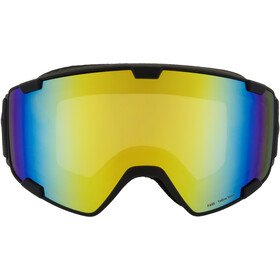 Red Bull SPECT Park Lunettes de protection, black/yellow snow